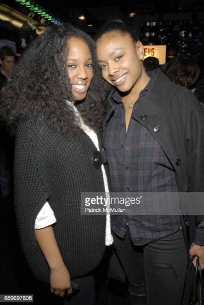 Jacqueline Cooper and Shivaughn DeVeaux attend Hilfiger Denim Marky Ramone Paper Magazine Invite you to Celebrate The Launch of MARKY RAMONE'S ROCK...