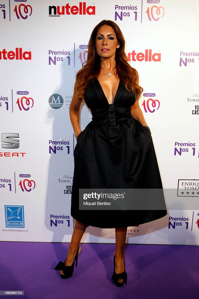 Jacqueline de la Vega poses at the photocall of 'Cadena 100 Number 1 Awards 2013' on May 27, 2013 in Barcelona, Spain.