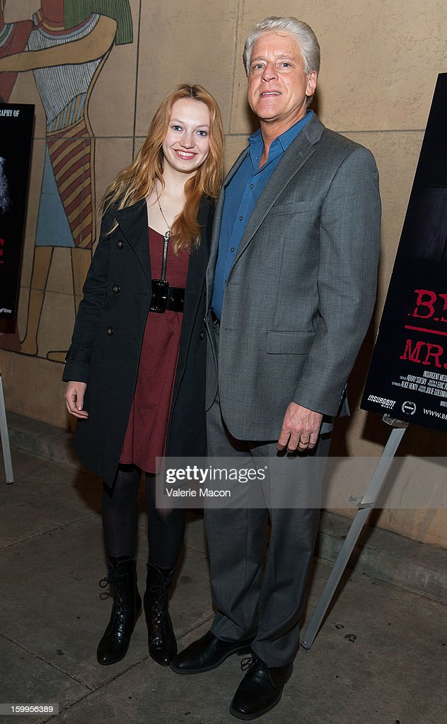 Jacqueline Emerson and Rick Allen arrives at the screening of SnagFilms' 'Beware of Mr Baker' at the Egyptian Theatre on January 23 2013 in Hollywood...