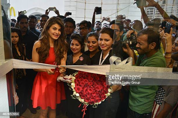 Jacqueline Fernandez at a perfume launch event in Mumbai