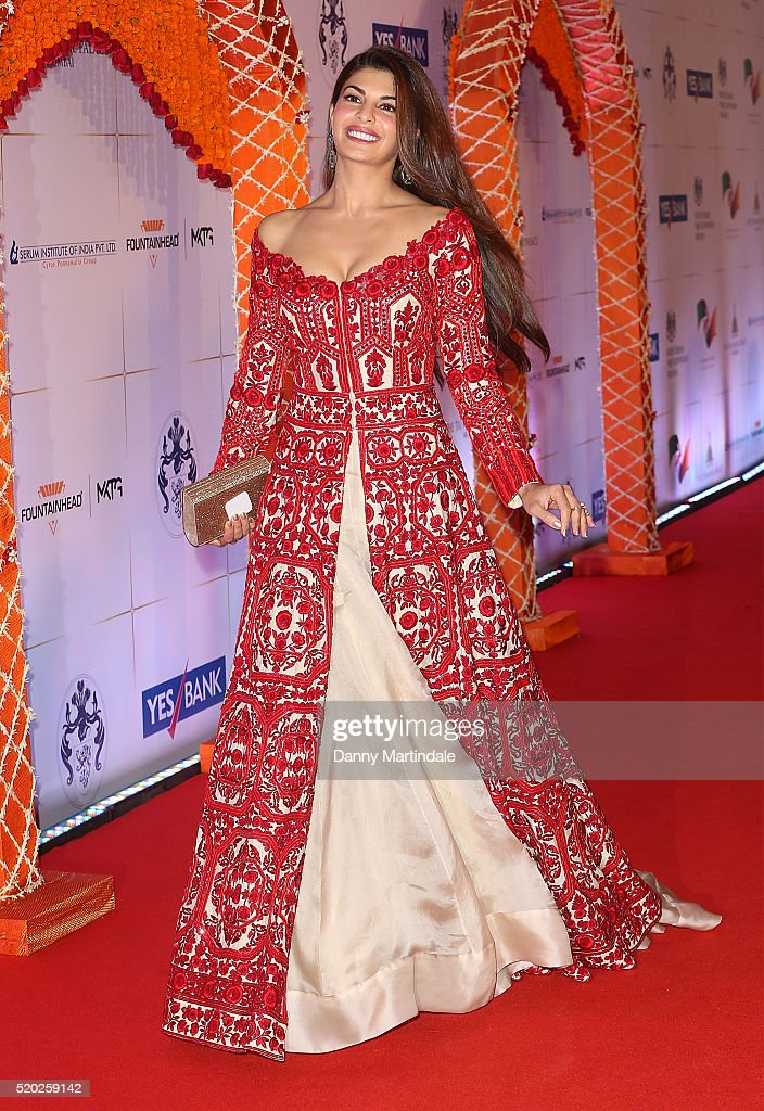 <a gi-track='captionPersonalityLinkClicked' href=/galleries/search?phrase=Jacqueline+Fernandez&family=editorial&specificpeople=5749256 ng-click='$event.stopPropagation()'>Jacqueline Fernandez</a> attend the Bollywood Charity Gala at the Taj Palace Hotel on April 10, 2016 in Mumbai, India.