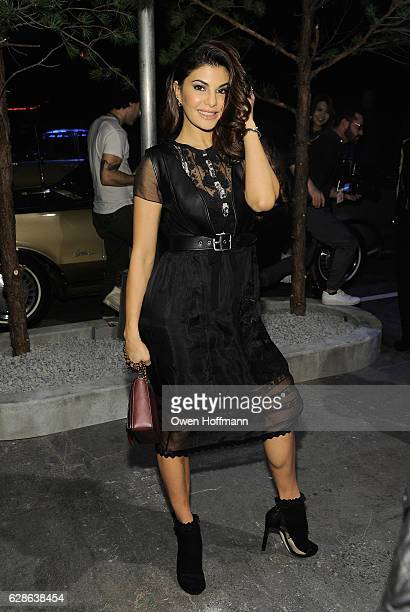 Jacqueline Fernandez attends Coach 75th Anniversary Women's PreFall and Men's Fall Show on December 8 2016 in New York City