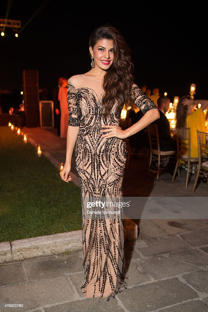 <a gi-track='captionPersonalityLinkClicked' href=/galleries/search?phrase=Jacqueline+Fernandez&family=editorial&specificpeople=5749256 ng-click='$event.stopPropagation()'>Jacqueline Fernandez</a> attends the Art Biennale Party hosted by Mr. Emir Uyar on May 30, 2015 at the St Regis Venice San Clemente Palace in Venice, Italy.