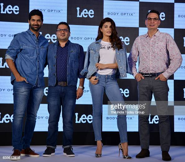 Jacqueline Fernandez during the launch of Lee Jeans new denim collection Body Optix in Mumbai