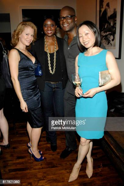 Jacqueline Gonzalez Lola Ogunnaike Darryl Robinson and Hanna Lee attend OLDMAN'S BRAVE NEW WORLD OF WINE Book Launch Hosted by W W Norton and Mark...