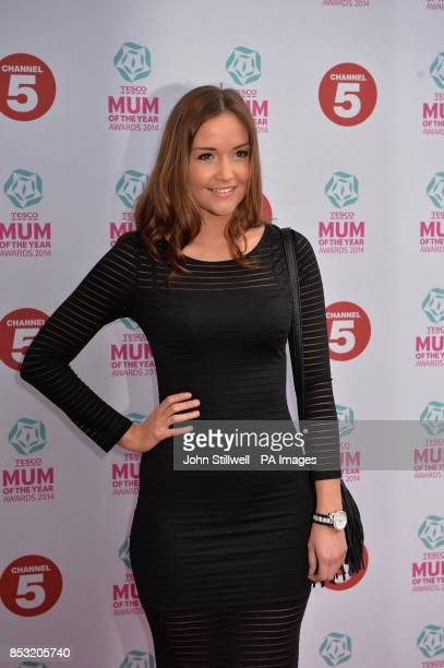 Jacqueline Jossa arriving at the Tesco Mum of the Year Awards celebrating Britain's most inspirational mothers at The Savoy Hotel Strand in central...