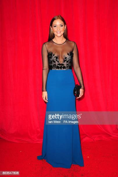 Jacqueline Jossa arriving for the 2014 British Soap Awards at The Hackney Empire 291 Mare St London