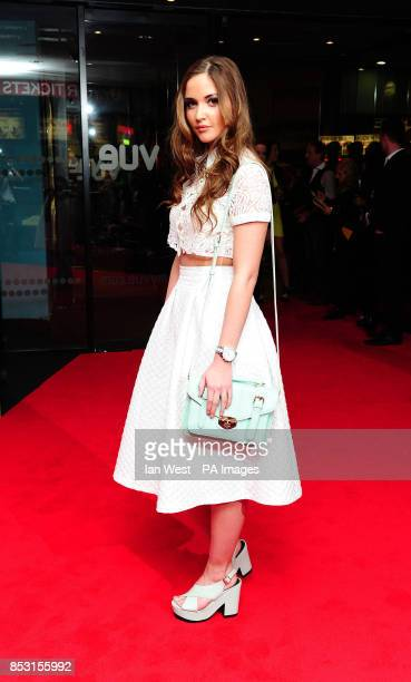 Jacqueline Jossa attending a gala screening of The Stag held at the Vue cinema London