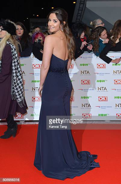 Jacqueline Jossa attends the 21st National Television Awards at The O2 Arena on January 20 2016 in London England