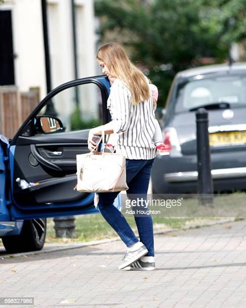 Jacqueline Jossa Dan Osborne sighting on August 11 2016 in London England