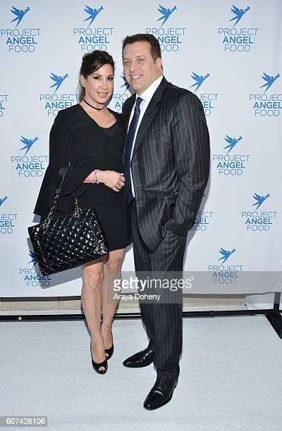 Jacqueline Laurita and Chris Laurita attend the Project Angel Food's Angel Awards 2016 Honoring Lisa Rinna Mitch O'Farrell Joseph Mannis ESQ on...