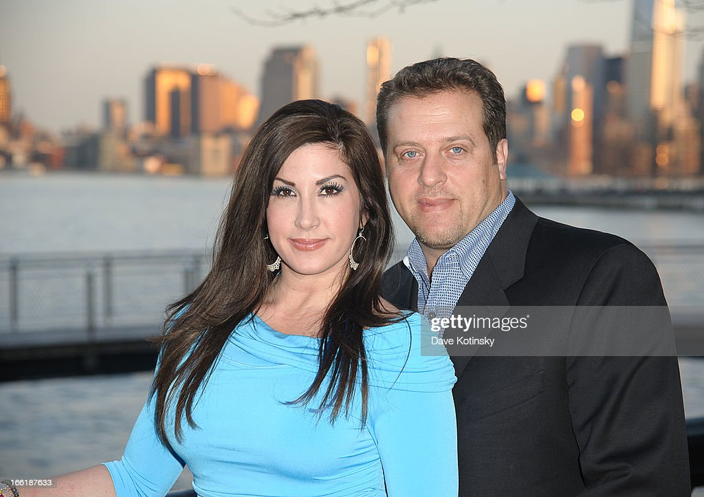 Jacqueline Laurita and Chris Laurita attends 'Little Town NJ' Restaurant Opening Hosted By The Manzo Brothers at Little Town NJ Restaurant on April 9, 2013 in Hoboken, New Jersey.
