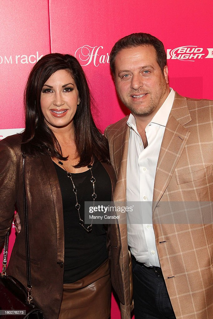 Jacqueline Laurita and her husband Chris attend the Us Weekly's Most Stylish New Yorkers Party at Harlow on September 10, 2013 in New York City.