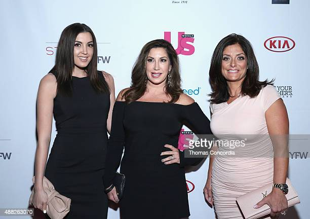 Jacqueline Laurita and Kathy Wakile attend with Us Weekly and Celebrates Fashion Week At KIA STYLE360 At Row NYC on September 14 2015 in New York City