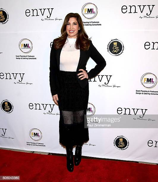 Jacqueline Laurita attends envy by Melissa Gorga Boutique Grand Opening at envy by Melissa Gorga Boutique on January 14 2016 in Montclair New Jersey