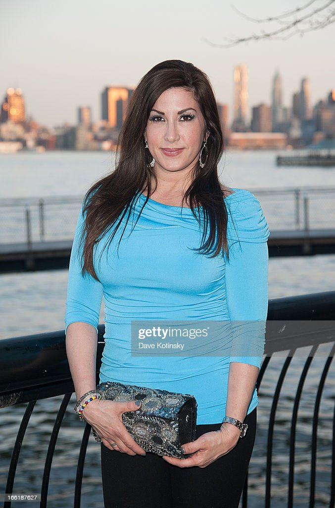 Jacqueline Laurita attends 'Little Town NJ' Restaurant Opening Hosted By The Manzo Brothers at Little Town NJ Restaurant on April 9, 2013 in Hoboken, New Jersey.