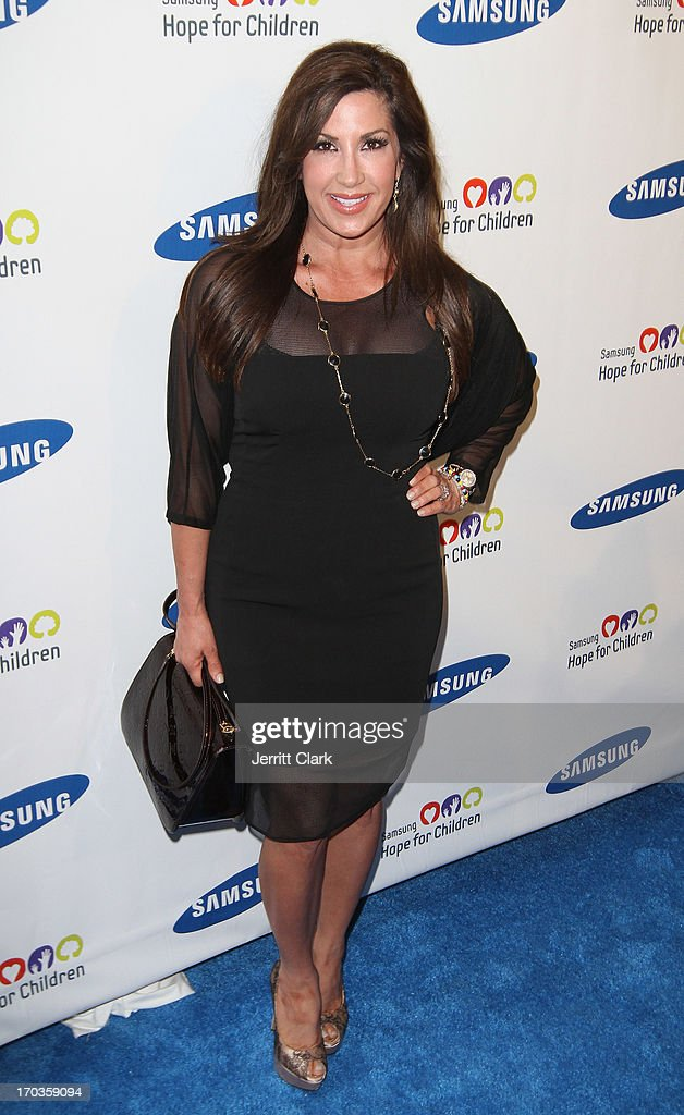 Jacqueline Laurita attends Samsung Hope For Children 12th Annual Gala at Cipriani Wall Street on June 11, 2013 in New York City.