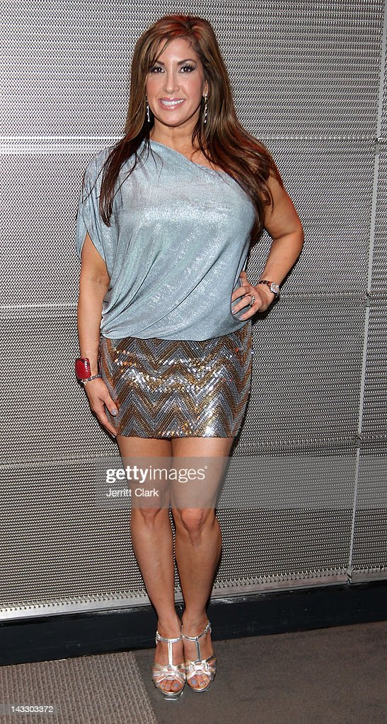 Jacqueline Laurita attends the 'Real Housewives of New Jersey' Season 4 viewing party at The Chandelier Room on April 22, 2012 in Hoboken, New Jersey.