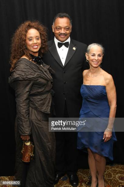 Jacqueline Lavinia Brown Jesse Jackson and Sharon Gersten Luckman attend ALVIN AILEY Opening Night Gala Benefit at New York City Center / Hilton on...