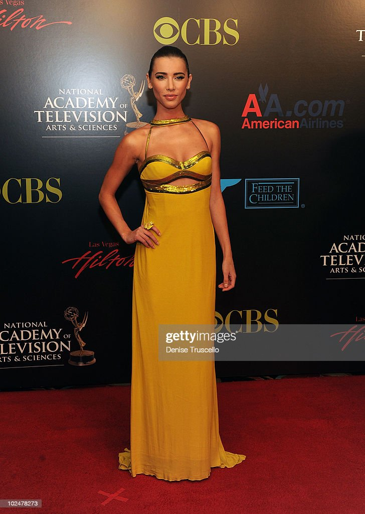 <a gi-track='captionPersonalityLinkClicked' href=/galleries/search?phrase=Jacqueline+MacInnes+Wood&family=editorial&specificpeople=5384852 ng-click='$event.stopPropagation()'>Jacqueline MacInnes Wood</a> arrives at the 37th Annual Daytime Emmy Awards at Las Vegas Hilton on June 27, 2010 in Las Vegas, Nevada.