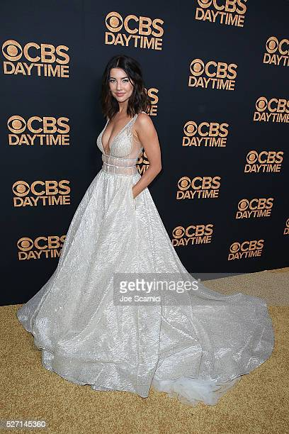 Jacqueline Macinnes Wood arrives at the CBS Daytime Emmy After Party at Alexandria Ballrooms on May 1 2016 in Los Angeles California