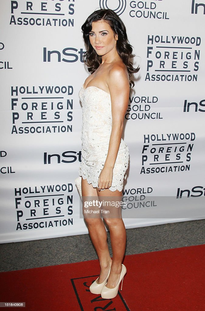 Jacqueline MacInnes Wood arrives at the Instyle and the Hollywood Foreign Press Association Party during the 2012 Toronto International Film Festival held at Windsor Arms Hotel on September 11, 2012 in Toronto, Canada.