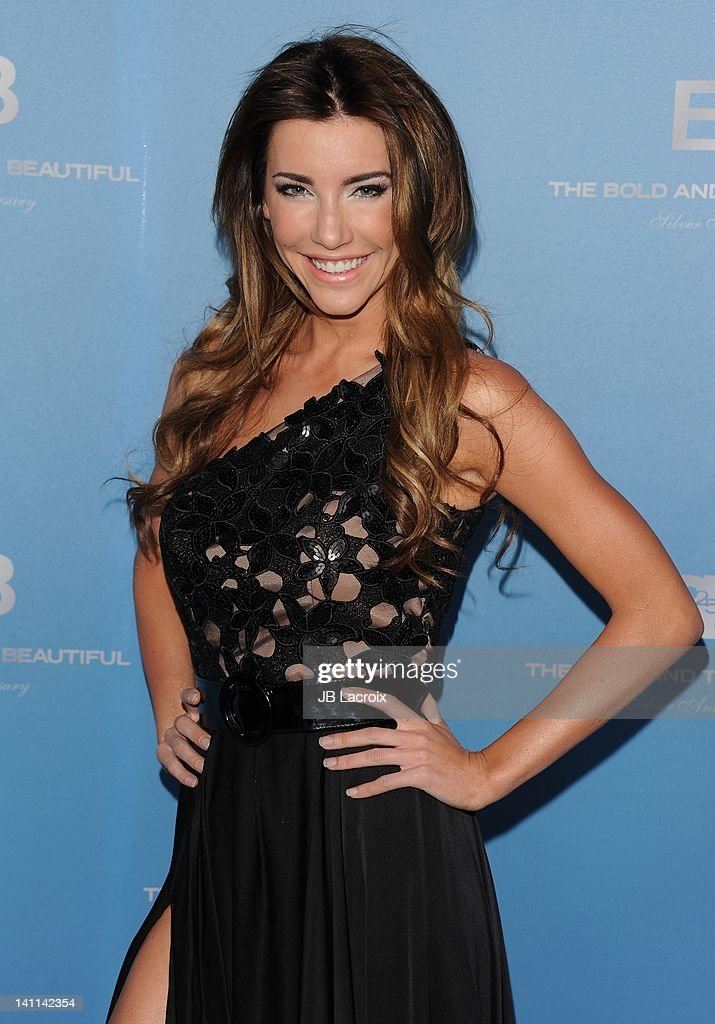 Jacqueline MacInnes Wood attends the 25th Silver Anniversary party for CBS' 'The Bold And The Beautiful on March 10, 2012 in Los Angeles, California.