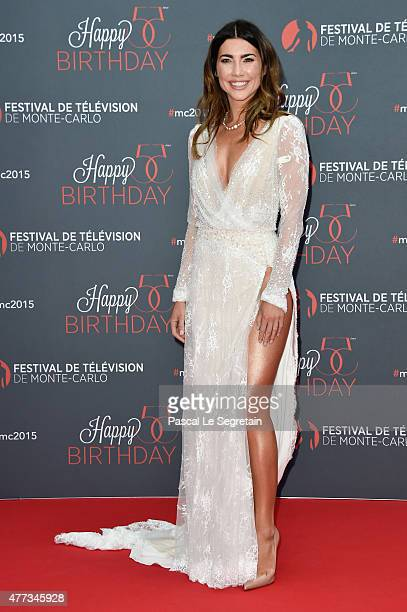 Jacqueline MacInnes Wood attends the 55th Monte Carlo Beach anniversary as part of Monte Carlo TV Festival on June 16 2015 in MonteCarlo Monaco