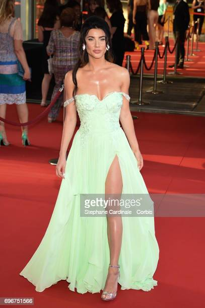 Jacqueline MacInnes Wood attends the 57th Monte Carlo TV Festival Opening Ceremony on June 16 2017 in MonteCarlo Monaco