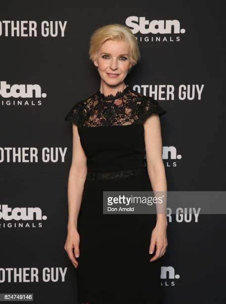 Jacqueline McKenzie arrives ahead of the premiere of Matt Okine's new series 'The Other Guy' at Museum of Contemporary Art on July 31 2017 in Sydney...