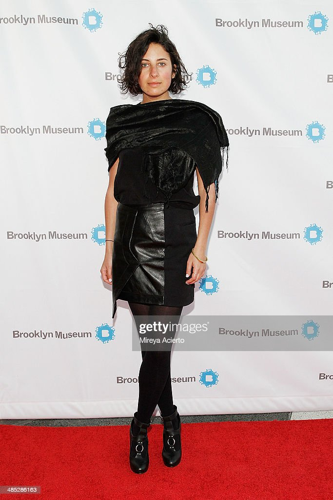 Jacqueline Sischy attends the Brooklyn Museum's 4th annual Brooklyn Artists Ball on April 16, 2014 in the Brooklyn borough of New York City.