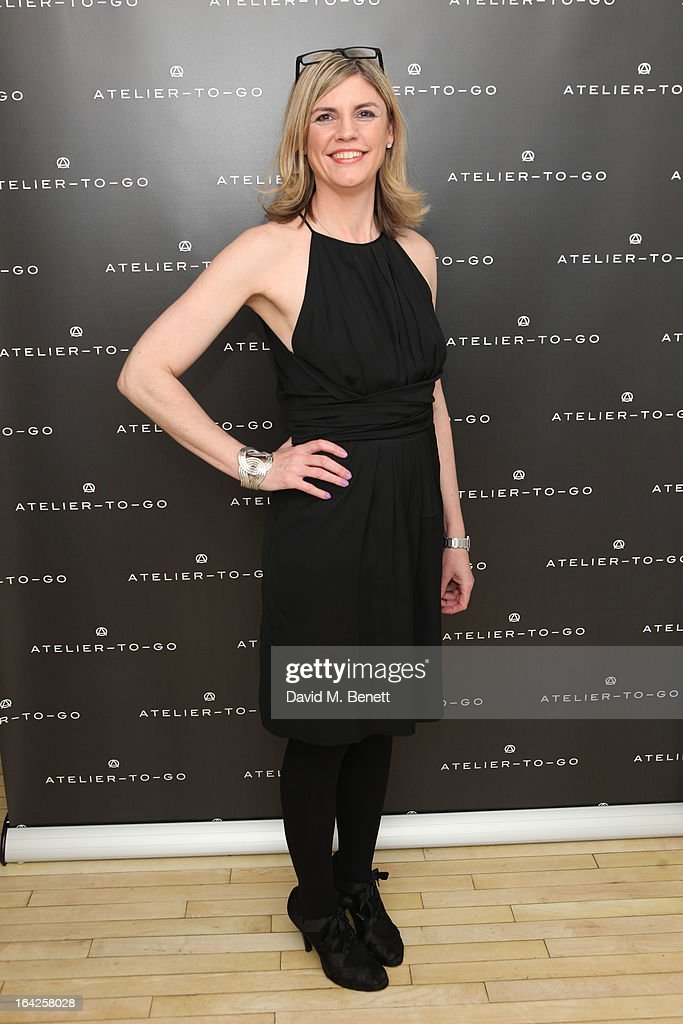 Jacqueline Stuart attends the launch party for Atelier-To-Go at Agua Spa, The Sanderson Hotel on March 21, 2013 in London, England. Atelier-To-Go is a brand-new fashion platform that offers a carefully-curated edit of contemporary labels, with a mix of luxe essentials & must-have trends, to offer a complete, covetable wardrobe.