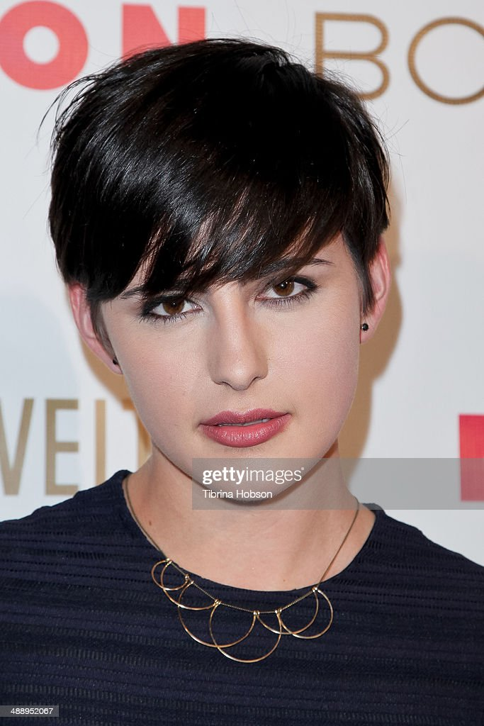 Jacqueline Toboni attends the Nylon Magazine May young Hollywood issue party at Tropicana Bar at The Hollywood Rooselvelt Hotel on May 8, 2014 in Hollywood, California.