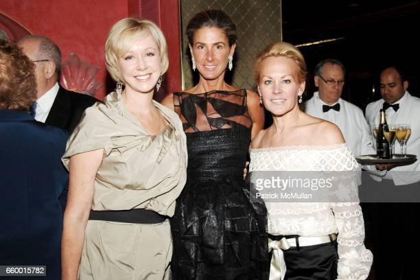 Jacqueline Togut Somers Farkas and Muffie Potter Aston attend Lighthouse International POSH Preview Benefit Dinner at Doubles Club on May 12 2009 in...