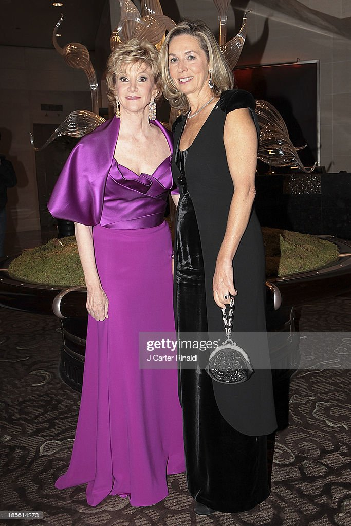 Jacqueline Weld Drake and France Chretien Desmarais attend the Casita Maria's 2013 Fiesta gala at Mandarin Oriental Hotel on October 22, 2013 in New York City.