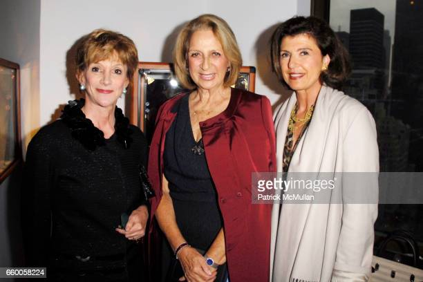 Jacqueline Weld Drake Daisy Soros and Violaine Bernbach attend PAOLO COSTAGLI and TOWN AND COUNTRY Host a Cocktail Party to Benefit CASITA MARIA at...