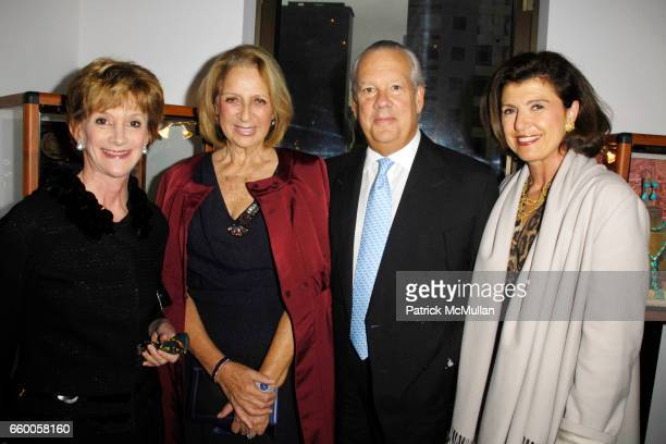 Jacqueline Weld Drake Daisy Soros John Bernbach and Violaine Bernbach attend PAOLO COSTAGLI and TOWN AND COUNTRY Host a Cocktail Party to Benefit...