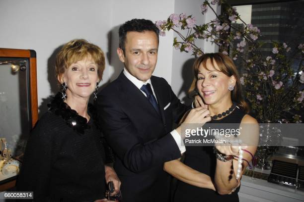 Jacqueline Weld Drake Paolo Costagli and Lilly Scarpetta attend PAOLO COSTAGLI and TOWN AND COUNTRY Host a Cocktail Party to Benefit CASITA MARIA at...