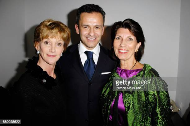 Jacqueline Weld Drake Paolo Costagli and Pamela Fiori attend PAOLO COSTAGLI and TOWN AND COUNTRY Host a Cocktail Party to Benefit CASITA MARIA at...
