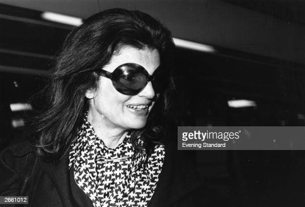 Jacqueline widow of American President John F Kennedy who married Greek born Argentinian ship owner Aristotle Onassis in 1968