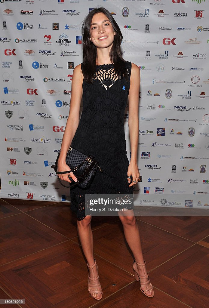 Jacquelyn Jablonski attends the 2013 Cantor Fitzgerald And BGC Partners Charity Day at Cantor Fitzgerald on September 11, 2013 in New York City.