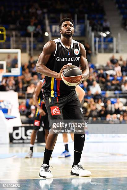 Jacques Alingue of Dijon during the Pro A match between Antibes sharks and JDA Dijon on November 4 2016 in Antibes France