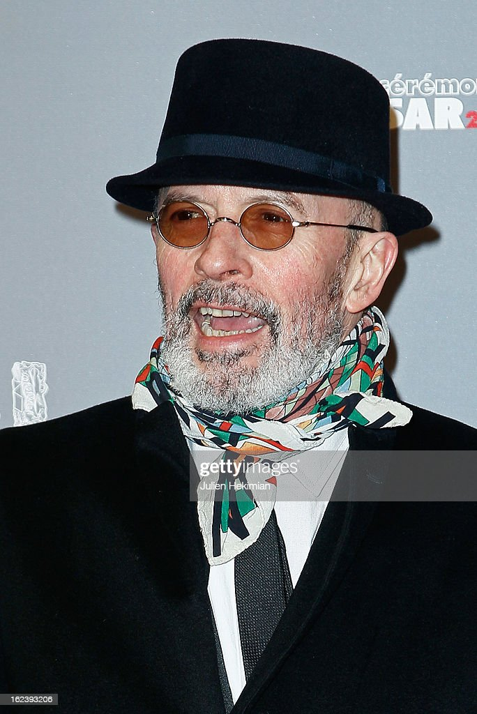 Jacques Audiard attends the Cesar Film Awards 2013 at Theatre du Chatelet on February 22, 2013 in Paris, France.