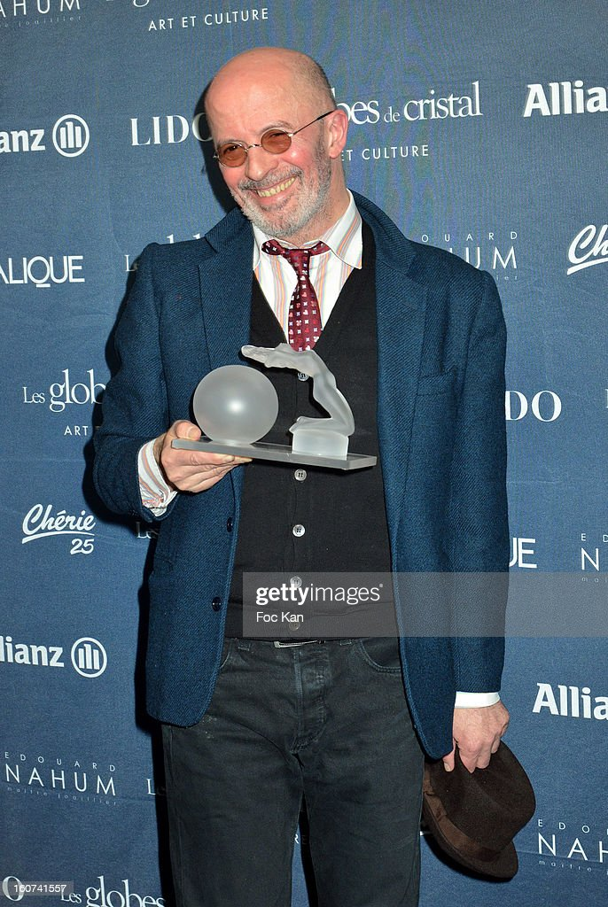 <a gi-track='captionPersonalityLinkClicked' href=/galleries/search?phrase=Jacques+Audiard&family=editorial&specificpeople=624567 ng-click='$event.stopPropagation()'>Jacques Audiard</a> attends the 'Globes de Cristal 2013' Press Room at the Lido on February 4, 2013 in Paris, France.