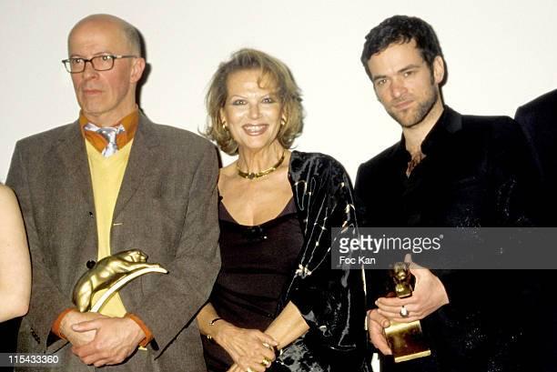 Jacques Audiard Claudia Cardinale and Romain Duris