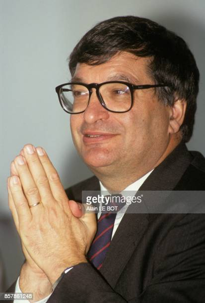 Jacques Auxiette maire de la RochesurYon et conseiller general de Vendee le 1er octobre 1993 a la RochesurYon France