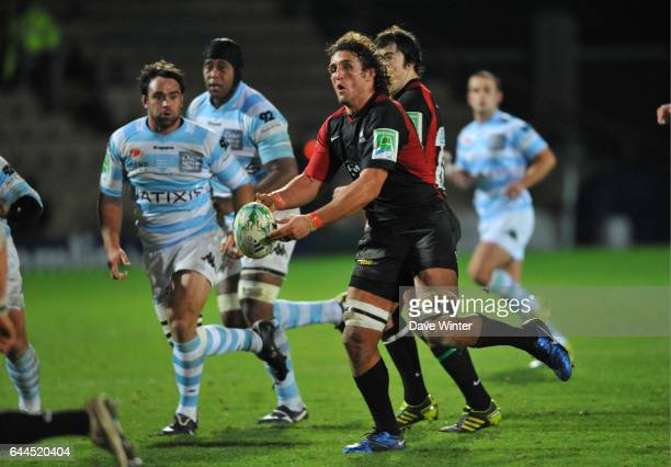 Jacques BURGER Saracens / Racing Metro 92 H Cup 3e journee Groupe 2 Vicarage Road Watford Photo Dave Winter / Icon Sport
