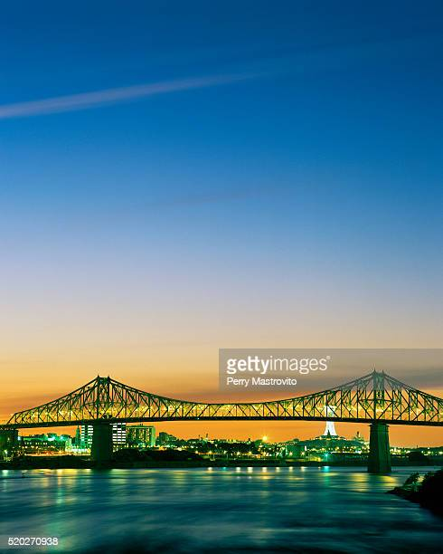 Jacques Cartier Bridge at Sunset