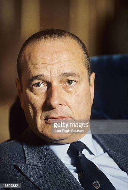 Jacques Chirac French poltician Paris city hall on December 1st 1986