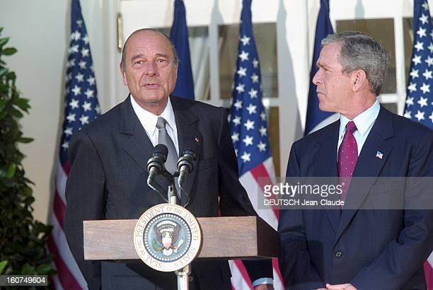 chirac bush meeting Bush: war on terror is 'challenge of our bush's meeting later with chirac the white house also used berlusconi as a counterweight to bush's meeting.